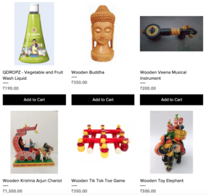 ArtEd Marketplace for Indian culture and art products